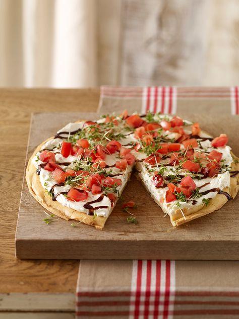 Eine schnelle und pikante Torte für unerwartete Gäste