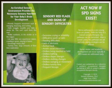 Red flags and signs of sensory processing disorder (spd)