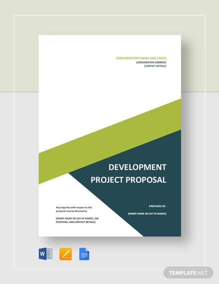 Instantly Download Development Project Proposal Template Sample Example In Micro Project Proposal Template Project Proposal Template Free Proposal Templates