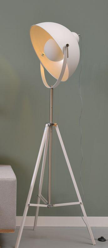 Lampadaire Hollywood Blanc O68cm H183cm It S About Romi Normal Floor Lights Floor Lamp Design Floor Lamp