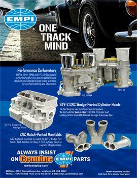 Empi Products Volkswagen Catalog Advertisements Ratten