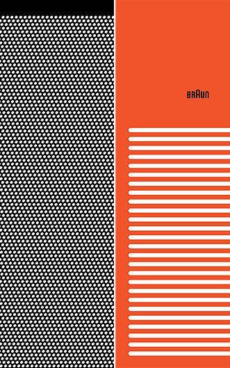 34 Posters Celebrate Braun Design In The 1960s