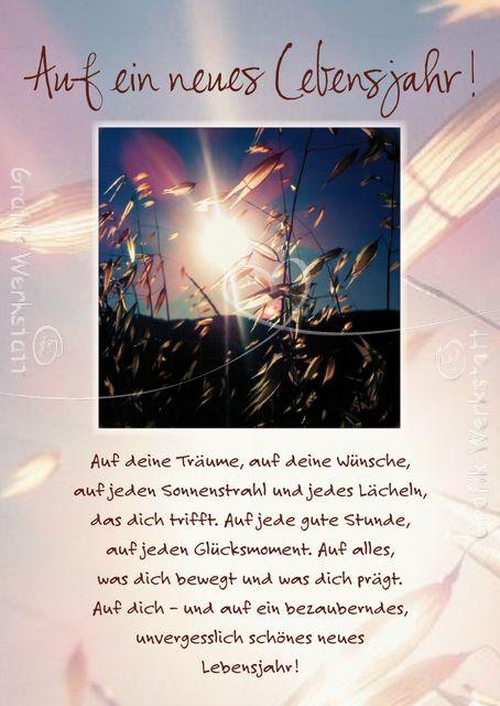 Auf ein neues Lebensjahr - Postkarten - Grafik Werkstatt Bielefeld