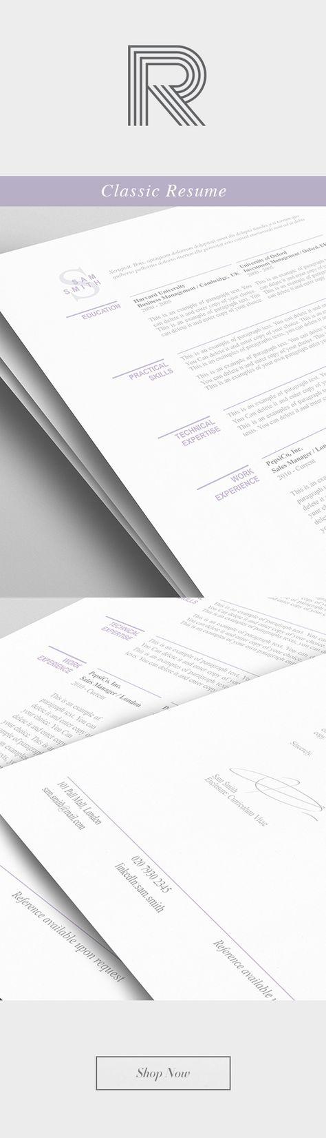 Elegant Resume Template 110460 - Premium line of Resume \ Cover - deli attendant sample resume