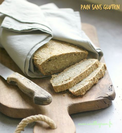 Le pain vegan et sans gluten d'Ella Woodward. J'ai enfin trouvé une recette de pain sans gluten qui ne nécessite aucun pétrissage ni aucune machine à pain !