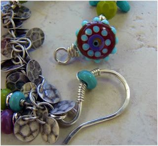 A Clever Idea - Wire a Button as a Clasp! - #wire #jewelry #tutorial