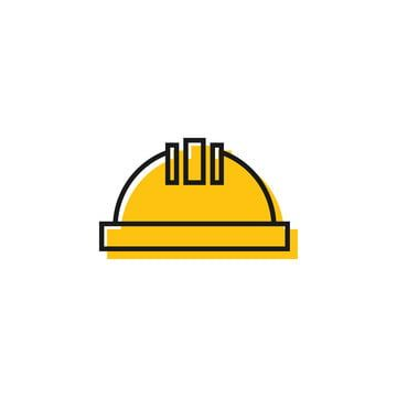 Construction Helmet Graphic Design Template Vector Illustration Construction Icons Template Icons Graphic Icons Png And Vector With Transparent Background Fo Graphic Design Templates Construction Symbols Design Template