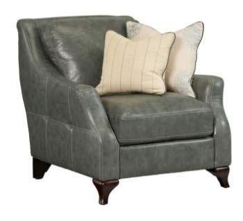 Simon Li Hilden Leather Chair 37 Leather Chair Chair Accent