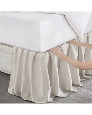 Wrap Around Bed Skirts Available In All Sizes Bedskirt Bed Skirt Alternative Farmhouse Bedding Dust ruffles bed skirts
