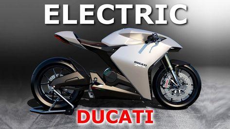 Ducati's Futuristic Electric Motorcycle ZERO