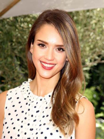 60 Ideas Hair Brown Lob Jessica Alba For 2019 Jessica Alba Hair