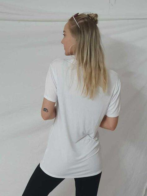 "Ladies Womens /""YVES SAINT LOVE/"" Gold Foil print Slogan Short sleeve T Shirt Top"