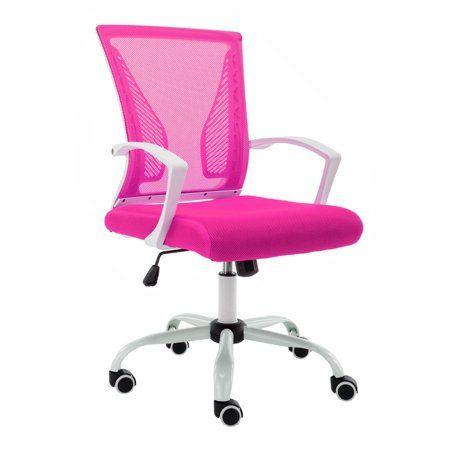 Home Retro Office Chair Modern Desk Chair Mesh Office Chair