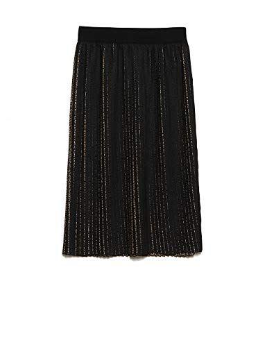 Motivi Gonna Plisse Made In Italy Nero S Italian Size Fashion Skirts Italy