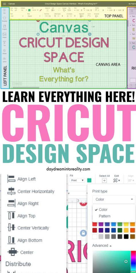 Cricut Design Space Tutorial for beginners