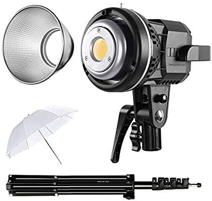 gvm 80w cri97 video lights with bowens