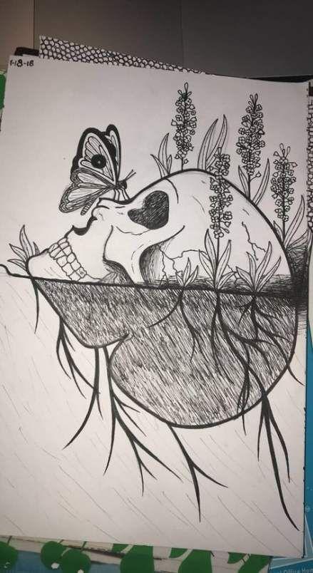 Unique Creative Sketches : unique, creative, sketches, Nature, Drawings, Ideas, Drawings,, Sketches, Creative,, Simple