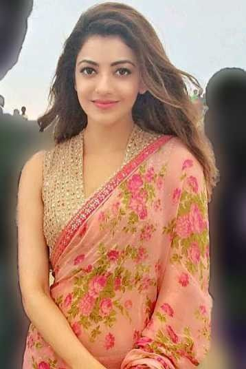 Kajal Aggarwal Fashionable Saree Blouse Designs Indian Fashion Indian Fashion Saree