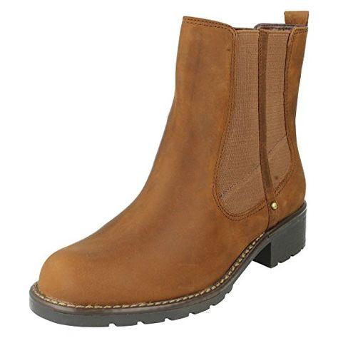 Orinoco Club, Boots femme, Marron - 30 Brown Snuff, 39 EUClarks