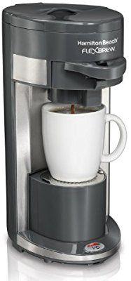 Amazon Com Hamilton Beach Coffee Maker Flex Brew Single Serve 49963 Kitchen Single Cup Coffee Maker Single Serve Coffee Makers Hamilton Beach Coffee Maker