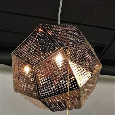Brayden Studio Skopelos 1 Light Unique Statement Geometric