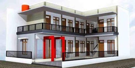 Hasil Gambar Untuk Desain Rumah Kontrakan 2 Lantai Desain Rumah Rumah Dekorasi Rumah