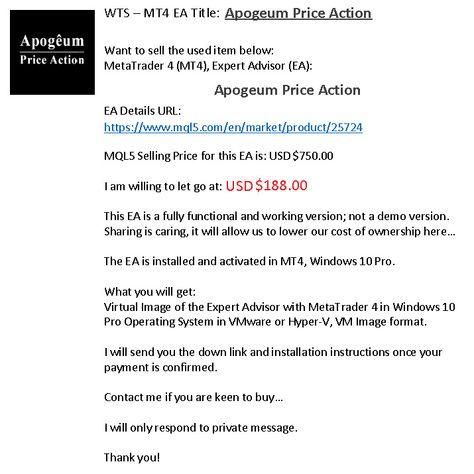 Apogeum Price Action Ea