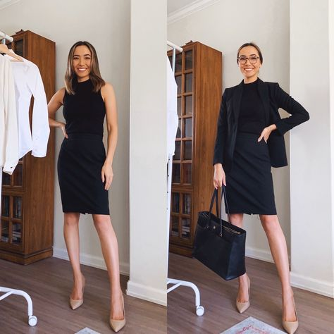 business professional formal outfits from ann taylor work outfits lifewithjazz igtv Business Formal Women, Trajes Business Casual, Business Outfits Women, Business Casual Attire, Business Dresses, Business Dress Code, Office Outfits Women, Office Dresses, Business Professional Dress
