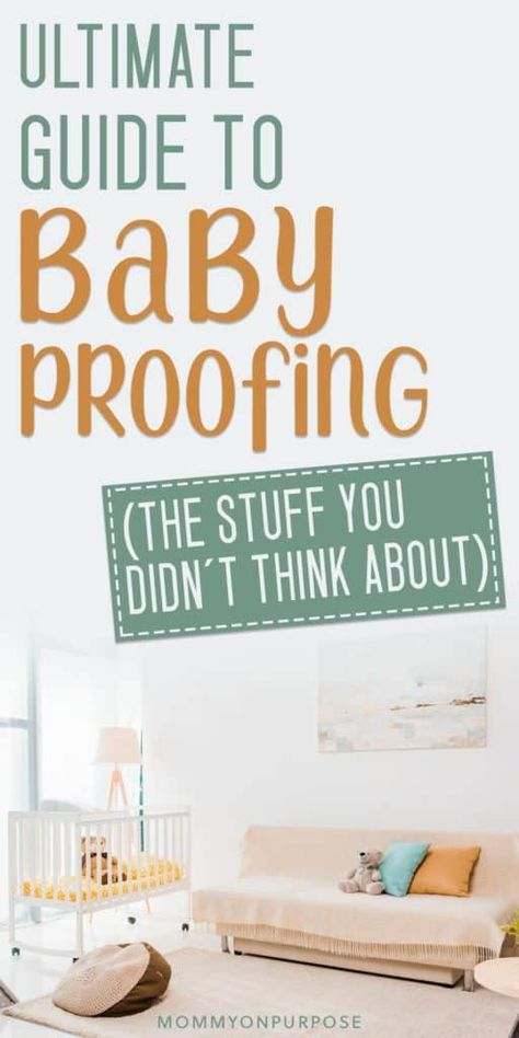 Baby Proofing Checklist – Everything You Don't Think About! If you're looking for quick tips for baby proofing your house, we have some awesome advice and tricks that'll help keep your new baby safe. (Great baby proofing hack for cabinets here! Baby Necessities, Baby Essentials, Baby Safety, Child Safety, Safety Tips, Baby Proof Fireplace, Baby Proof Cabinets, Baby Care Tips, Baby Tips