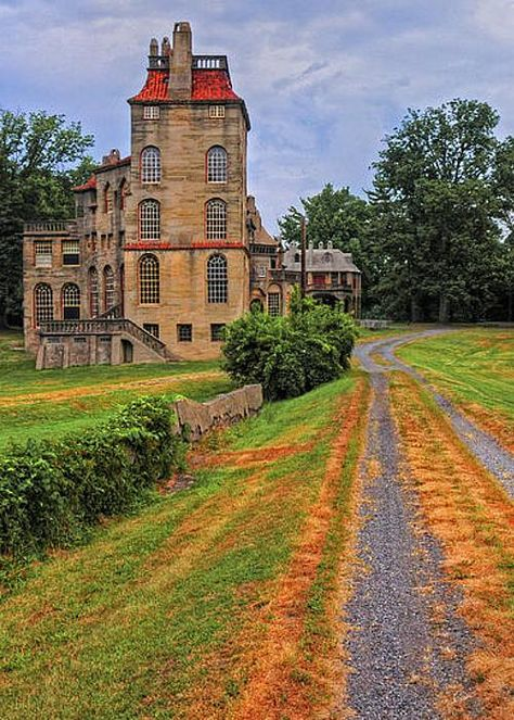 Fonthill Castle and it's here in the US! Doylestown, Pennsylvania.