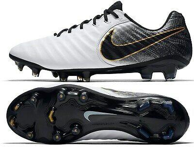 Advertisement Ebay Nike Tiempo Legend 7 Elite Fg White Black Gold Size 10 New 230 Ah7238 100 Nike Black Sport Shoes