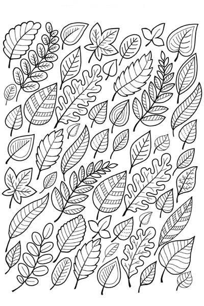 Falling Leaves Coloring Page Free Printable Ebook Leaf Coloring Page Fall Coloring Pages Coloring Pages