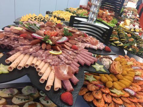 24 Abendbuffet / kalte Platten-Ideen   partyservice
