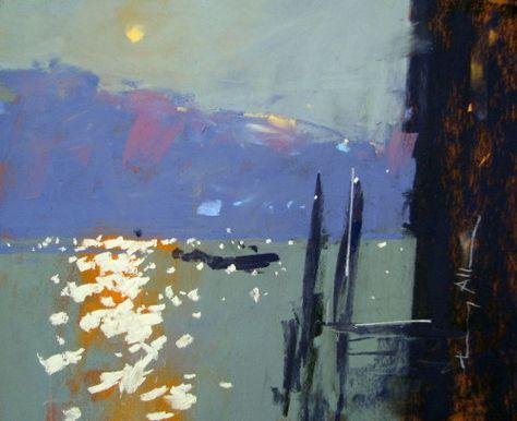 Venice, Moonrise Tony Allain