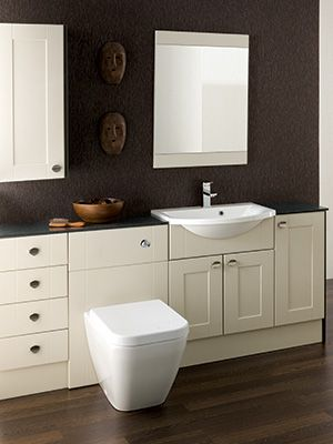 Chiltern Mussel And Lava Traditional Bathroom Furniture