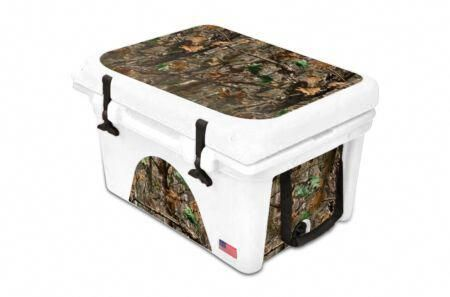 New Thickest Wrap 24mil Skin L I For Orca 40qt Cooler Wdland Camo Sporting Goods Offers On Top Store In 2020 Yeti Cooler Cooler Orca Cooler