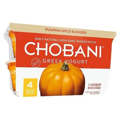Pumpkin Yogurt