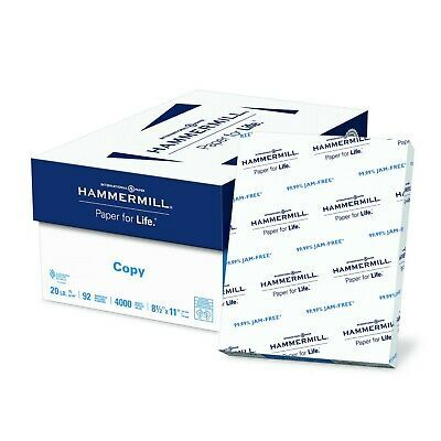 Sponsored Ebay Hammermill Paper Copy Paper 8 5 X 11 Paper Letter Size 20lb Paper 92 Bright Copy Paper Letter Paper Printer Paper