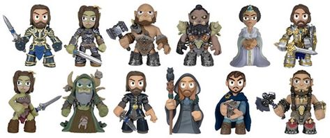 Warcraft Movie Funko Mystery Minis Vinyl Figures Medivh