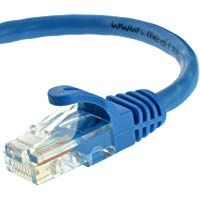 10ft CAT6 Ethernet Network LAN Patch Cable Cord 550 MHz RJ45 Blue 50 Pack Lot