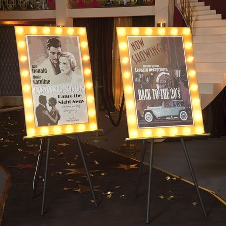 Classic Cinema Movie Posters Kit Set Of 2 Old Hollywood Prom Old Hollywood Prom Hollywood Party Theme Hollywood Birthday