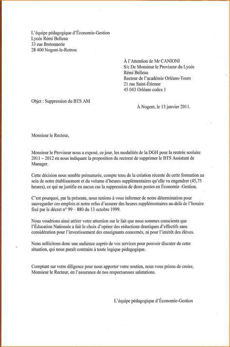 Lettre De Motivation De Demande D Inscription 2 Letter