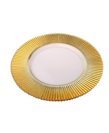 Classic Touch Trophy Charger Plates Set Of 4 Plate Sets Charger Plates Kids Shop