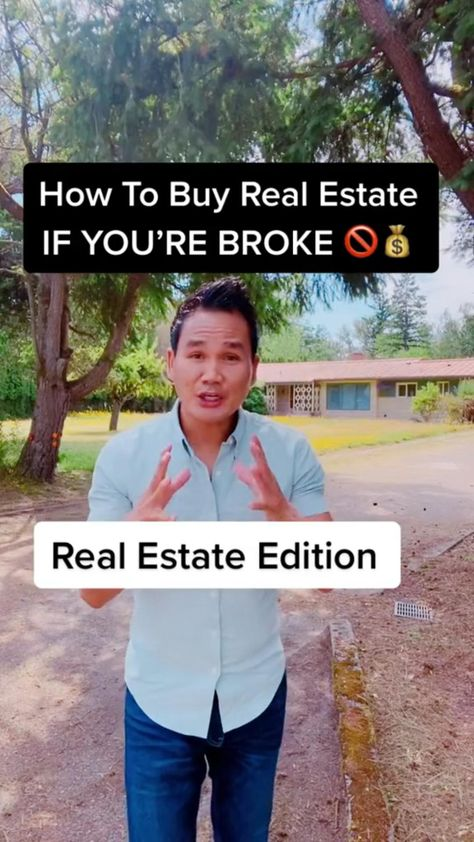 How To Buy Real Estate With No Money!🏠