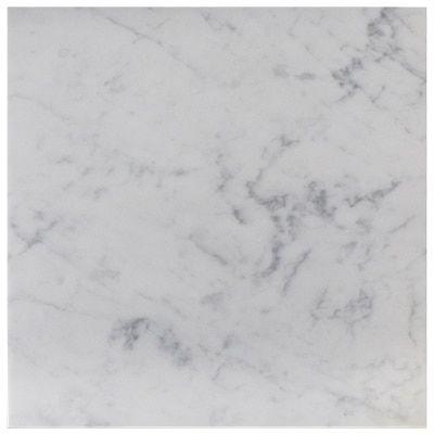 Carrara White Italian Marble 24 X 24 Tile Honed Italian Marble Honed Carrara Marble Carrera Marble