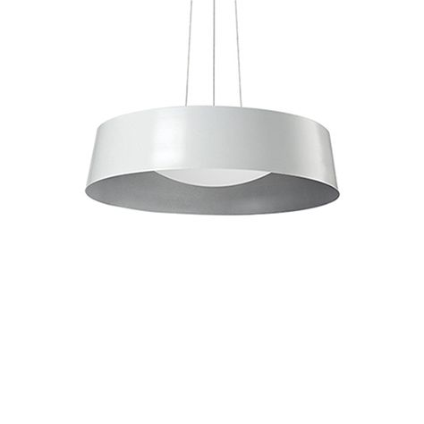 White 17 Inch One Light Led Pendant