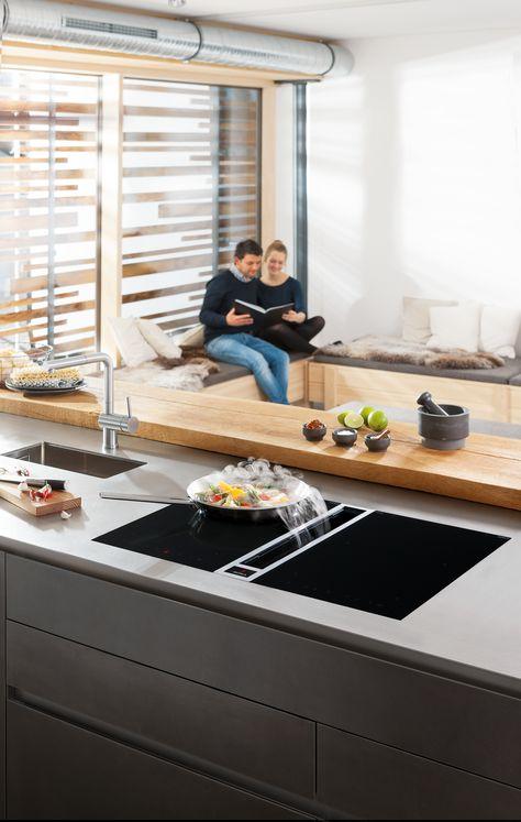 BORA Professional - bora Kueche - Einbaugeraete Pinterest - küche ohne oberschränke