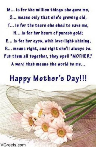 Mothers Day Quote About Pie Mothers Day Quotes Sayings For