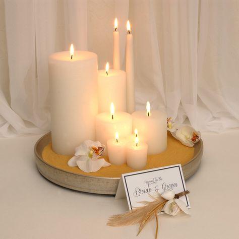 Our new Wedding Candles @kathyireland Designs Jardin @NicholasWalker by @hannascandles