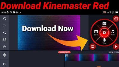 Free Download Kinemaster Red Mod Apk Kinemaster Mod Apk Download 2021 In 2021 Download Free Download Kine Master